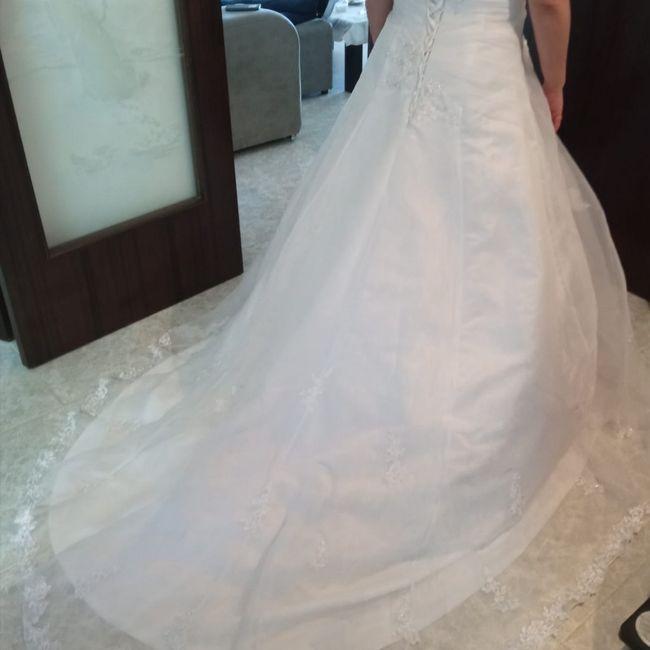 Dudas con mi vestido 😞🤦♀️ 9