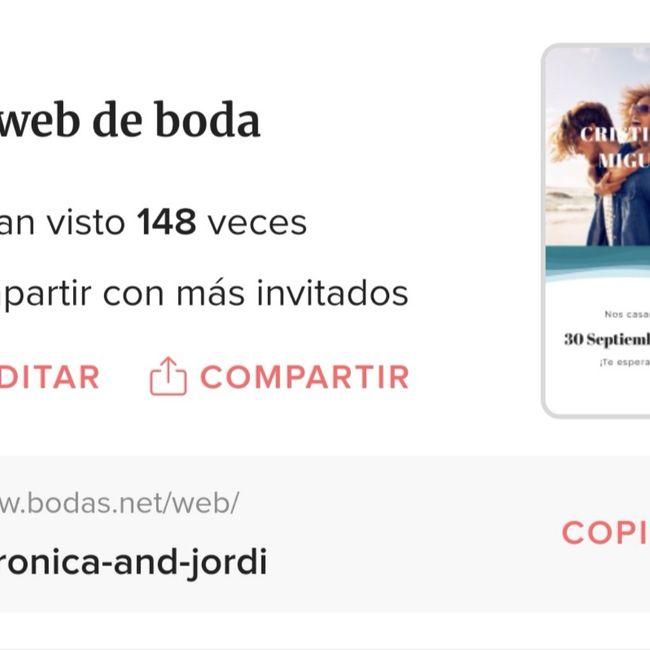 Help me!como enviar la web de boda por whatssap?? 4