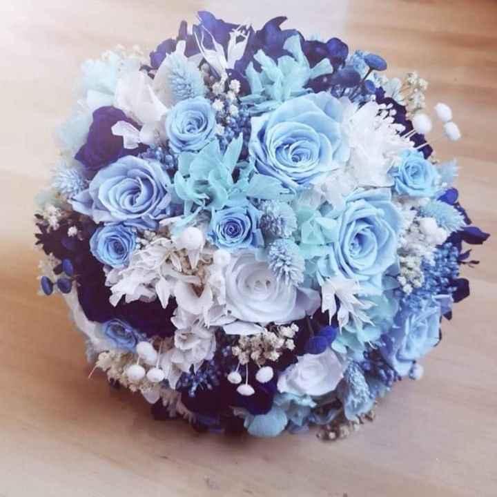 Ramo de novia azul? - 1