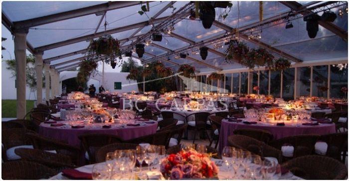 Banquete en carpa banquetes foro for Carpa comida