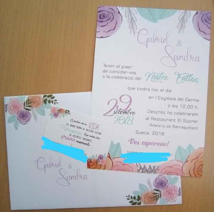 Mis invitaciones 😍 - 1