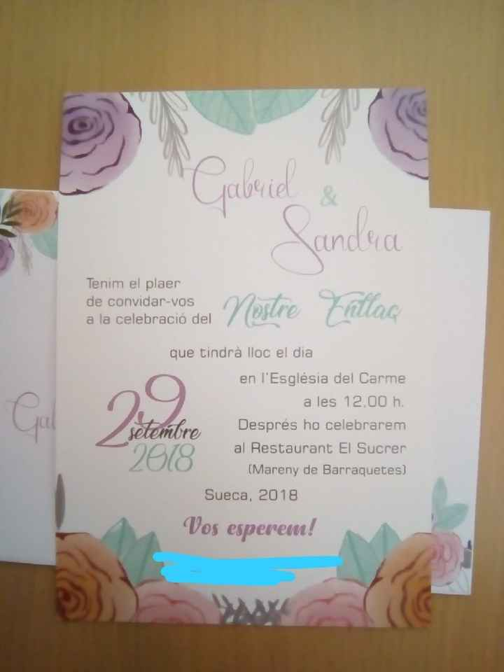 Mis invitaciones 😍 - 4