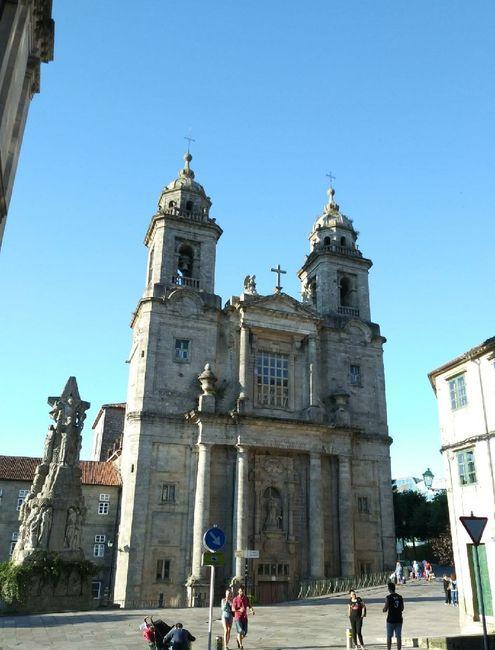 Novios de Iglesia de San Francisco en Santisgo de Compostela - 1