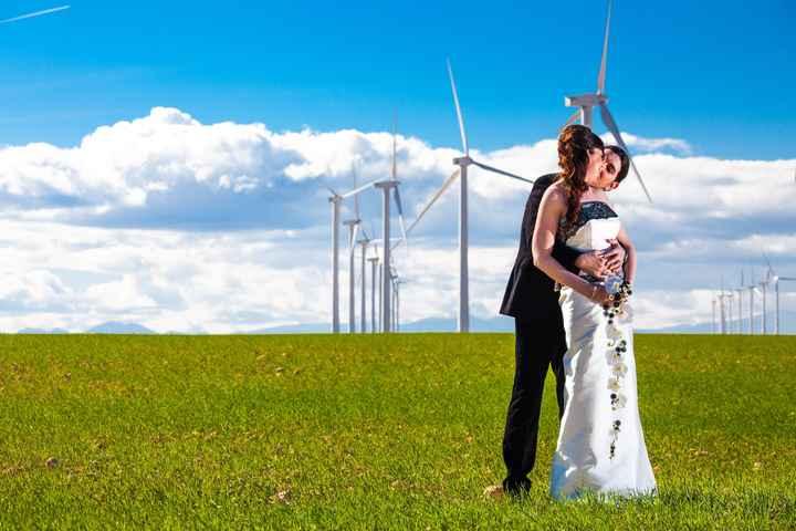 pose con molinos de viento