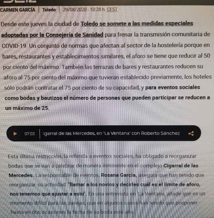 Novios que nos casamos el 19 de Septiembre de 2020 en Madrid - 1