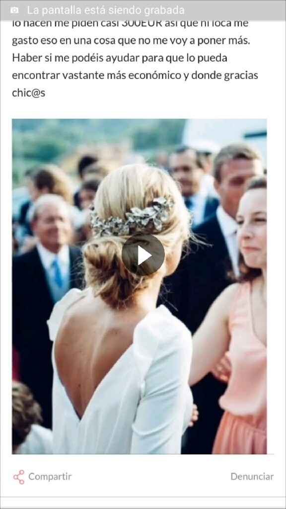 Recogido novia - 1