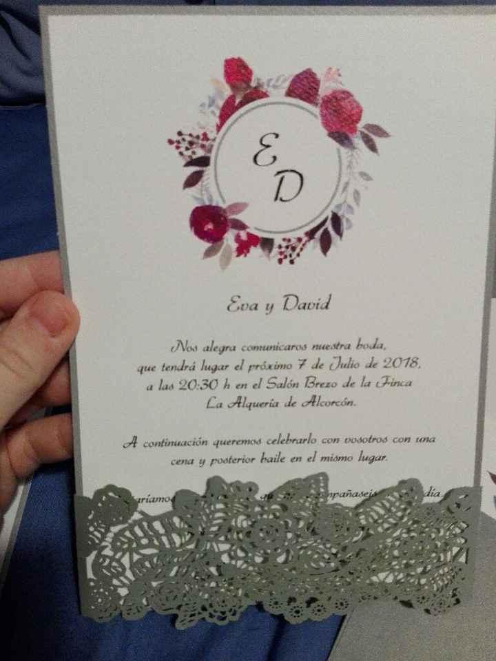 ¡Comparte tus invitaciones de boda! - 1