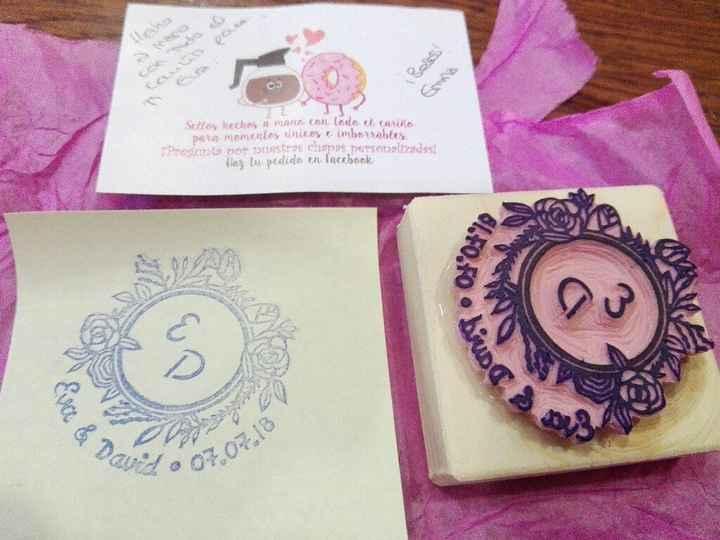 ¡Comparte tu sello de boda! - 1