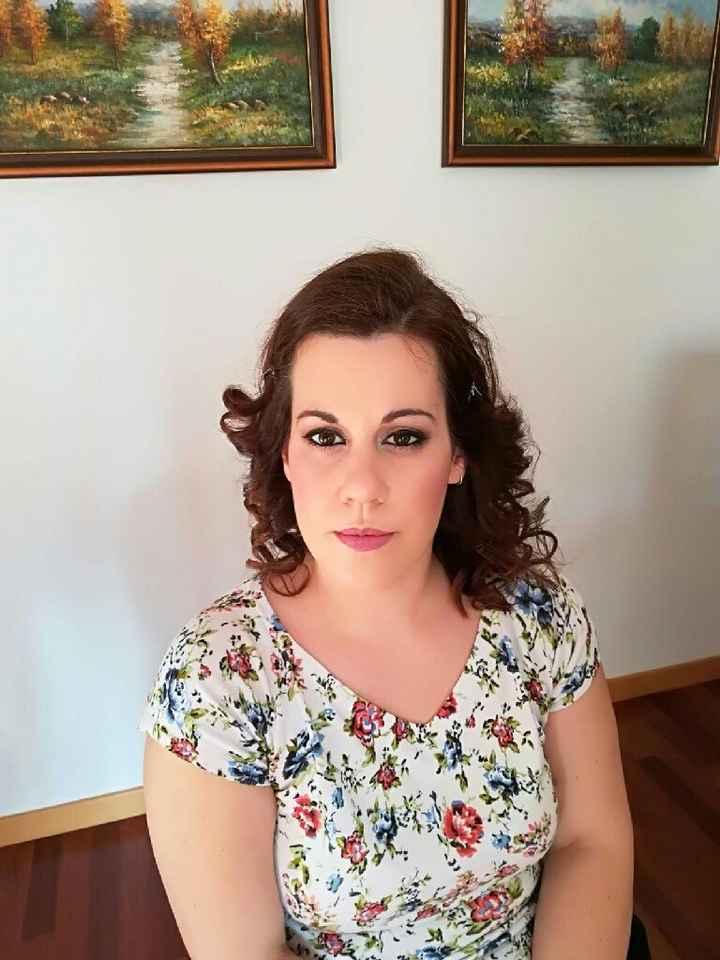 Mis pruebas de maquillaje y peinado - 1