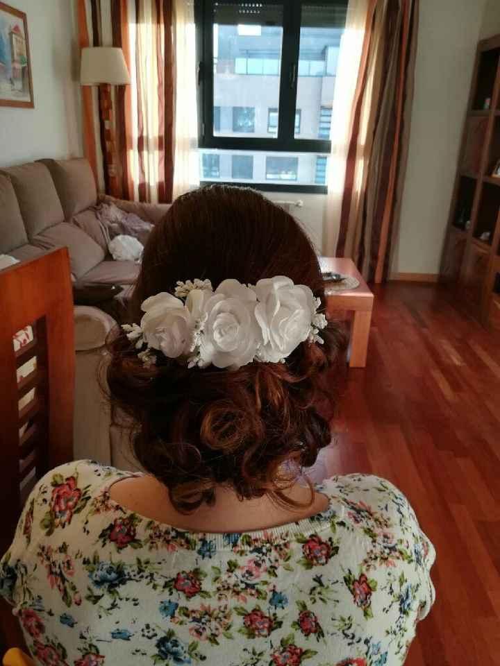 Mis pruebas de maquillaje y peinado - 2
