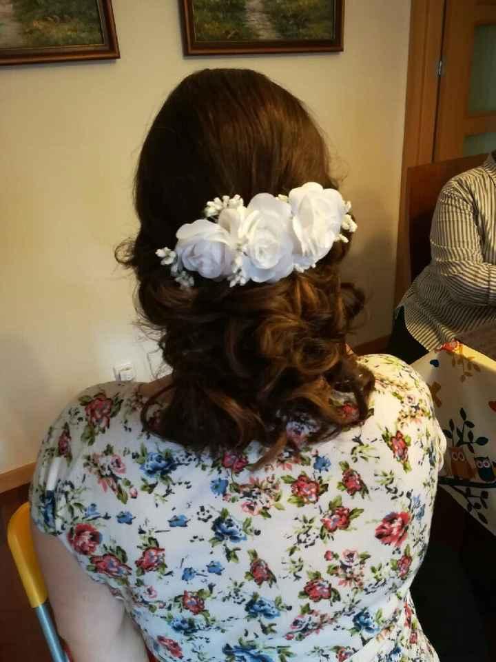 Mis pruebas de maquillaje y peinado - 3