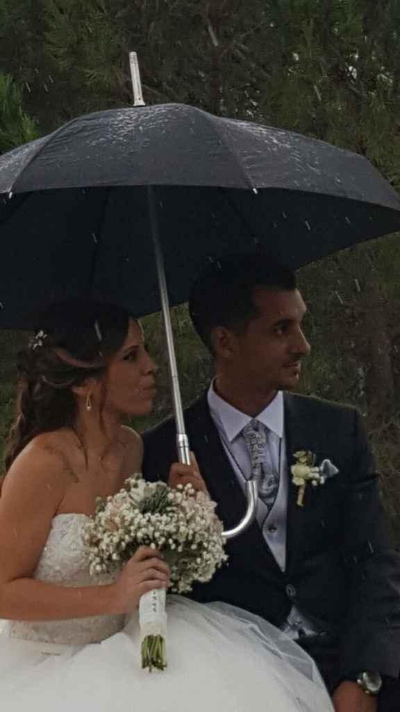 ¿Miedo a que llueva en la boda? ¡Espera a ver estas fotos! - 1