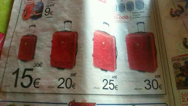 Donde puedo comprar una maleta grande? - 1
