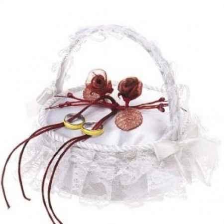 Mi cesta para los anillos!!!