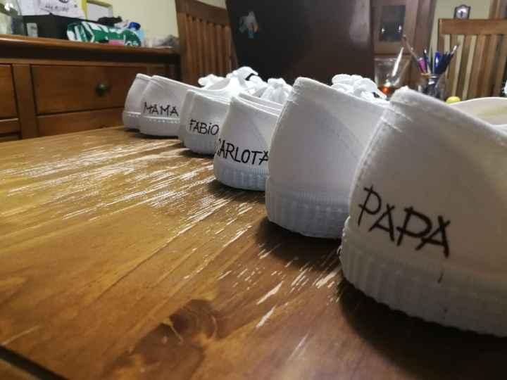 Zapatos de cambio para los 4!!!!! - 2
