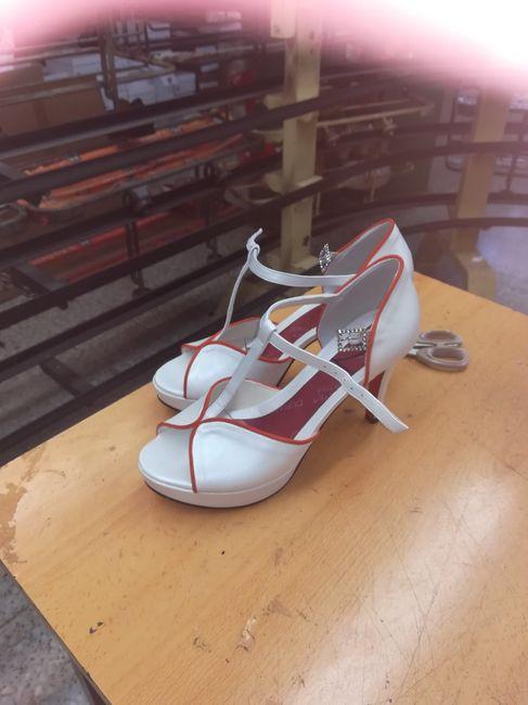 Zapatos de novia múlticolores 7