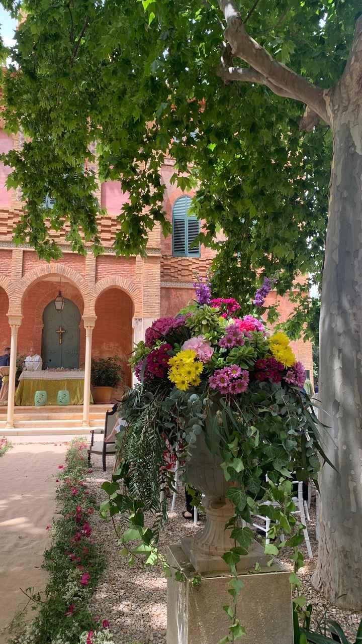 Copa de la capilla decorada