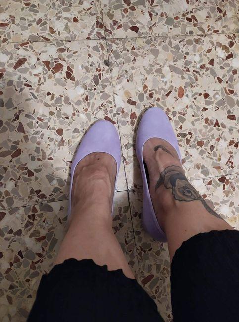 Mis zapatos? 1
