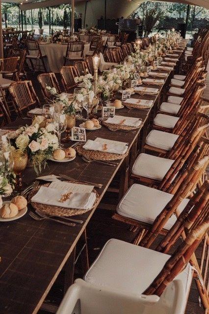 Nombre de invitados en las mesas 20