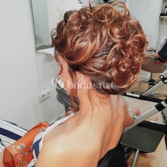 ¿Que peinado les gusta más?boda de dia 1