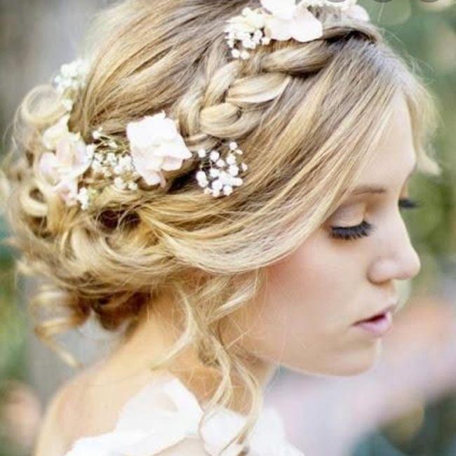 ¿Que peinado les gusta más?boda de dia 2