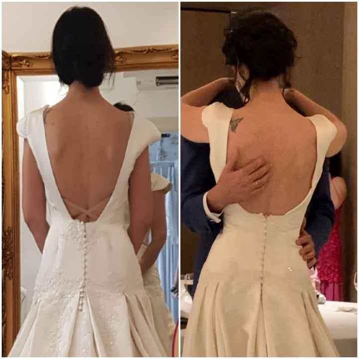 Decepción con el vestido el dia de mi boda - 1