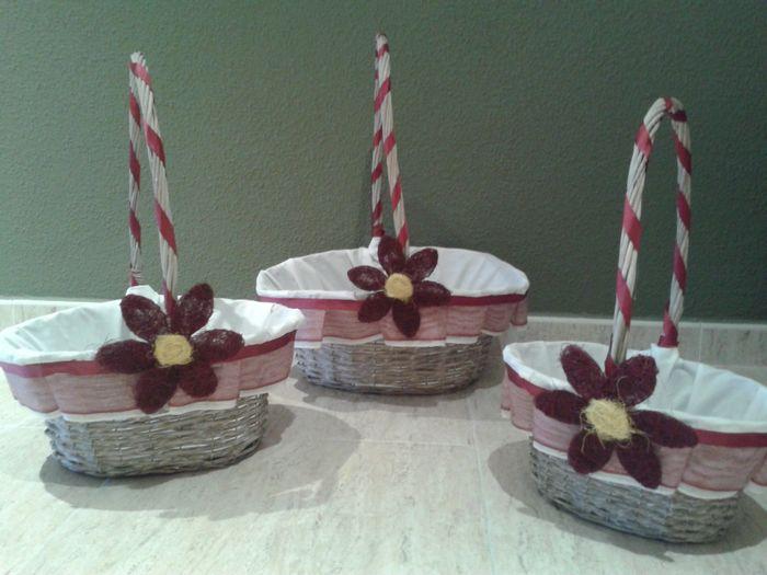 Como decorar cestas de boda  Imagui