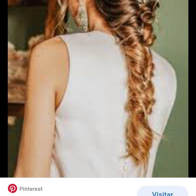 Peinado con vestido 10