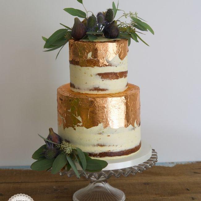 No puedo resistirme a esta tarta nupcial, ¿verdad o mentira? 😋 2
