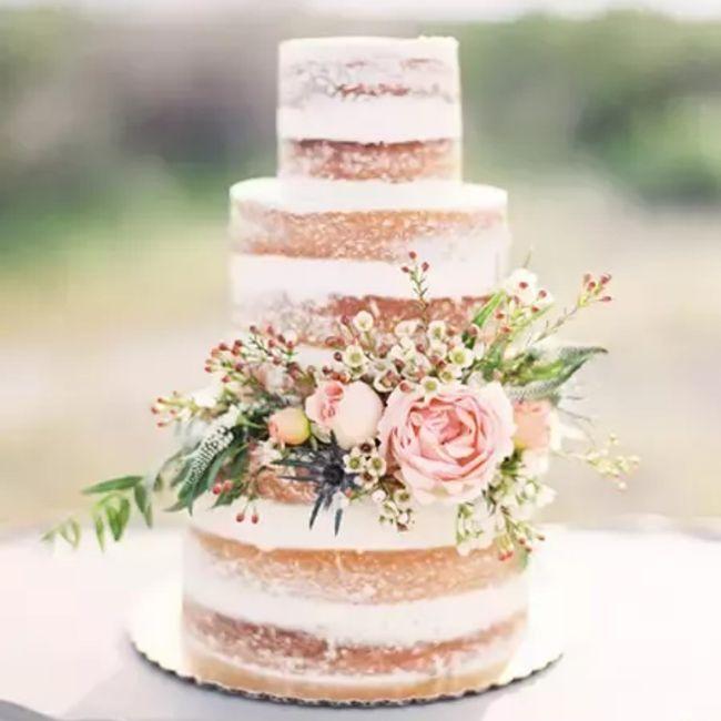 No puedo resistirme a esta tarta nupcial, ¿verdad o mentira? 😋 3