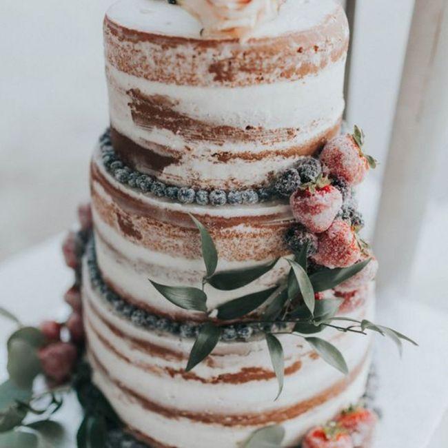No puedo resistirme a esta tarta nupcial, ¿verdad o mentira? 😋 4