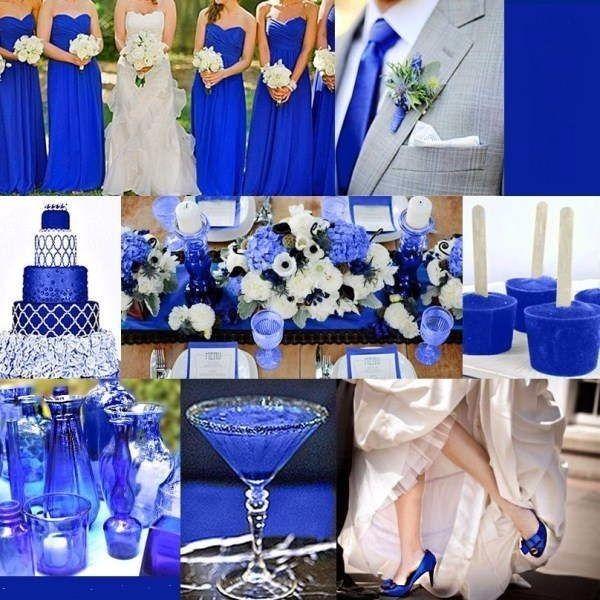 Una boda azul organizar una boda foro - Decoraciones en color plata ...