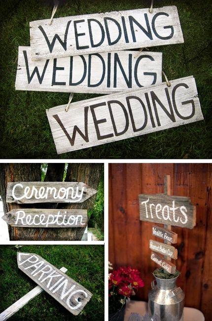 Decoracion Baño Boda: de madera para señalizar – Organizar una boda – Foro Bodasnet