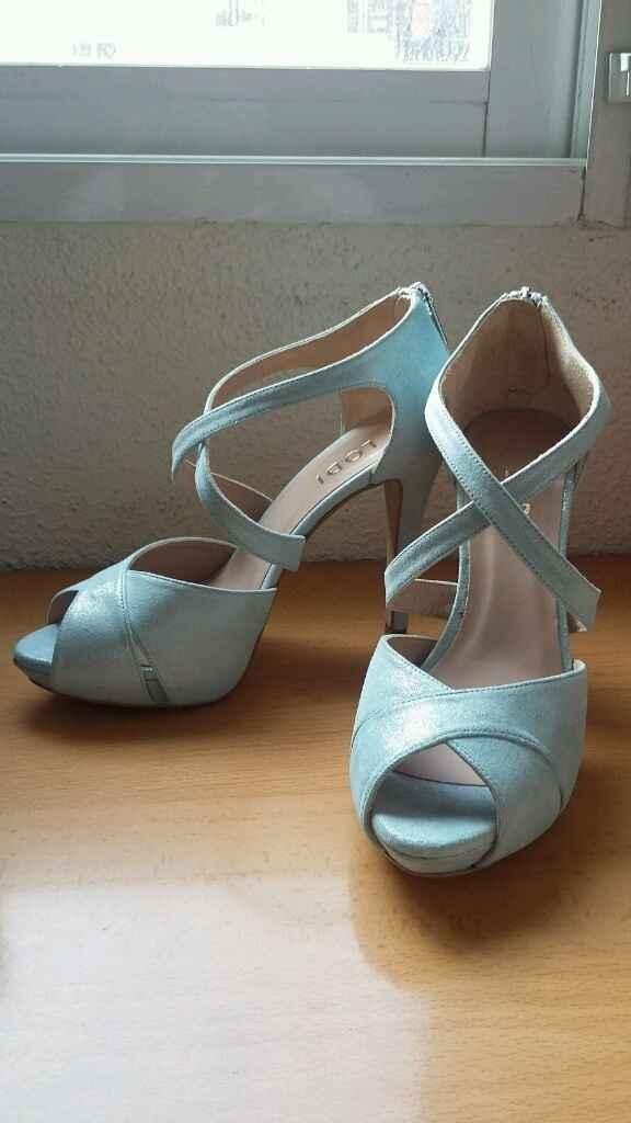 Los zapatos de la novia - 1