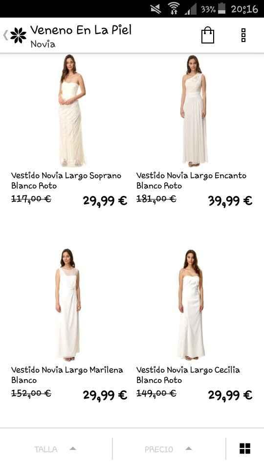 Vestidos novia en groupalia - 1