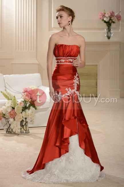 Vestido de novia no tradicional - 1