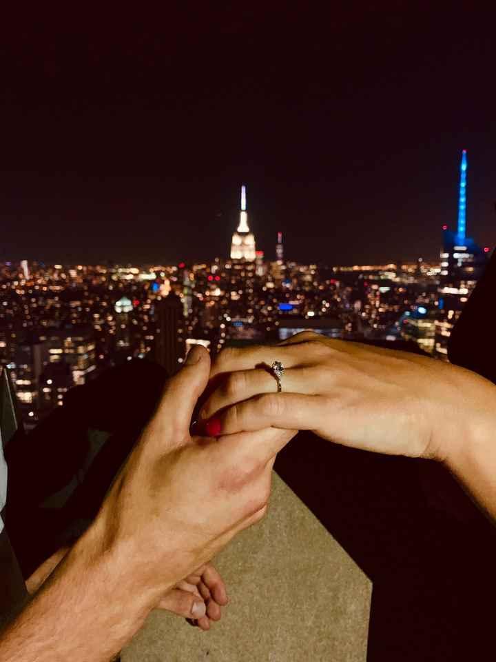 Pongamos todas nuestro anillo de compromiso - 1