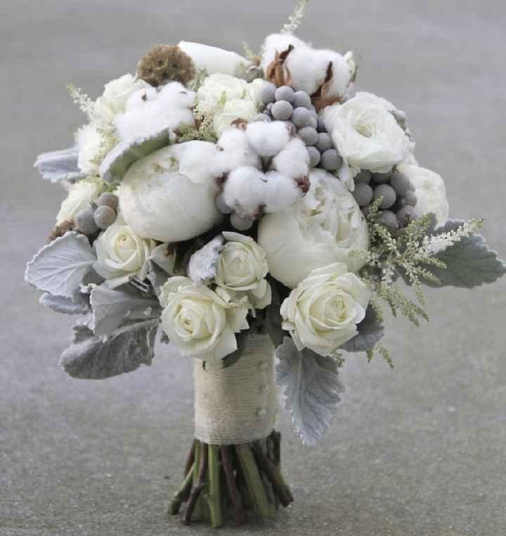 Ramo con flores de algodón: ¿Sí o No? - 2