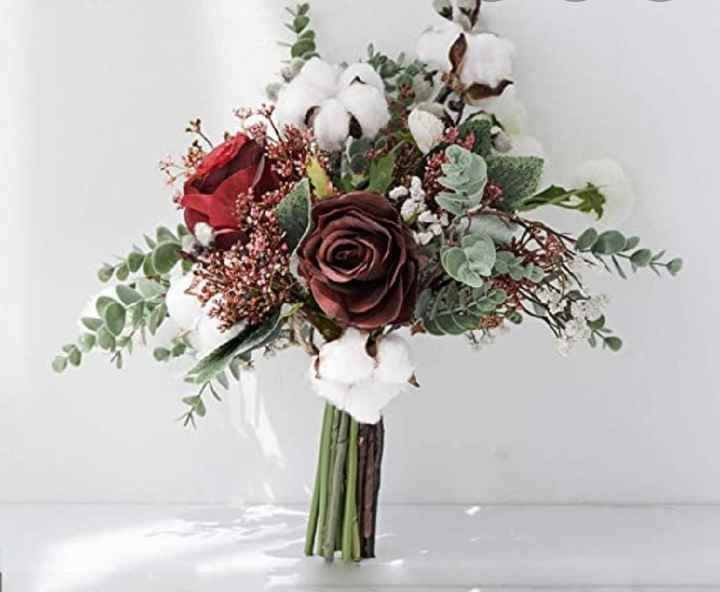 Ramo con flores de algodón: ¿Sí o No? - 3