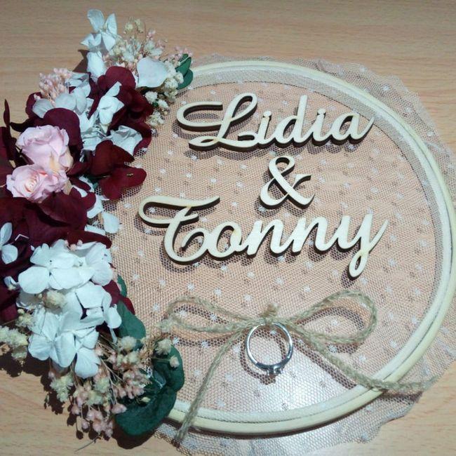 ¿Habrá manualidades hechas por ti en la boda? 5