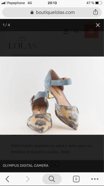 Ya tengo zapatos :) 5