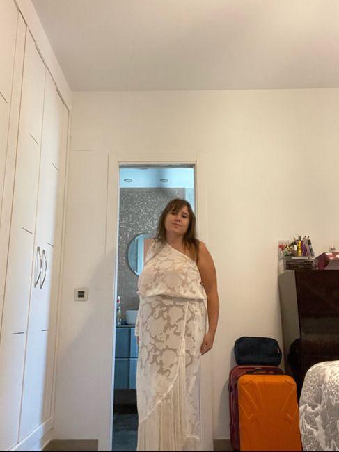 Llegó a casa mi segundo vestido de novia 1