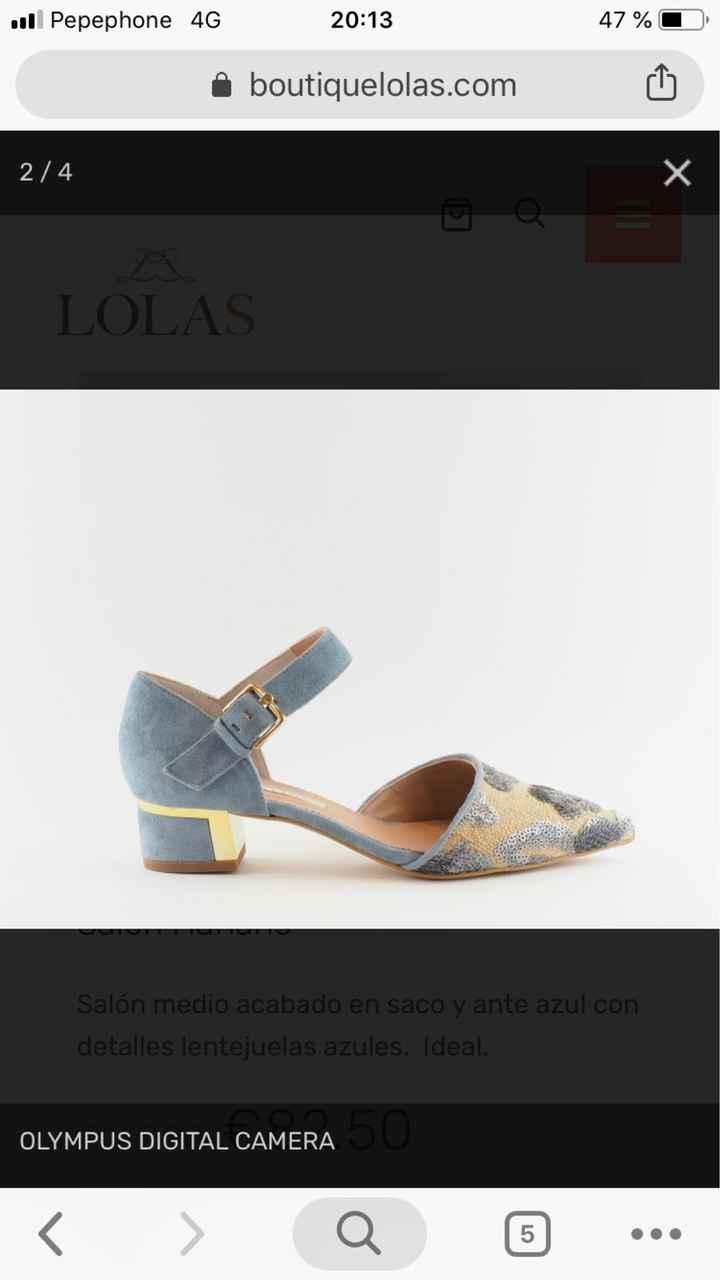 Zapatos azules - 1
