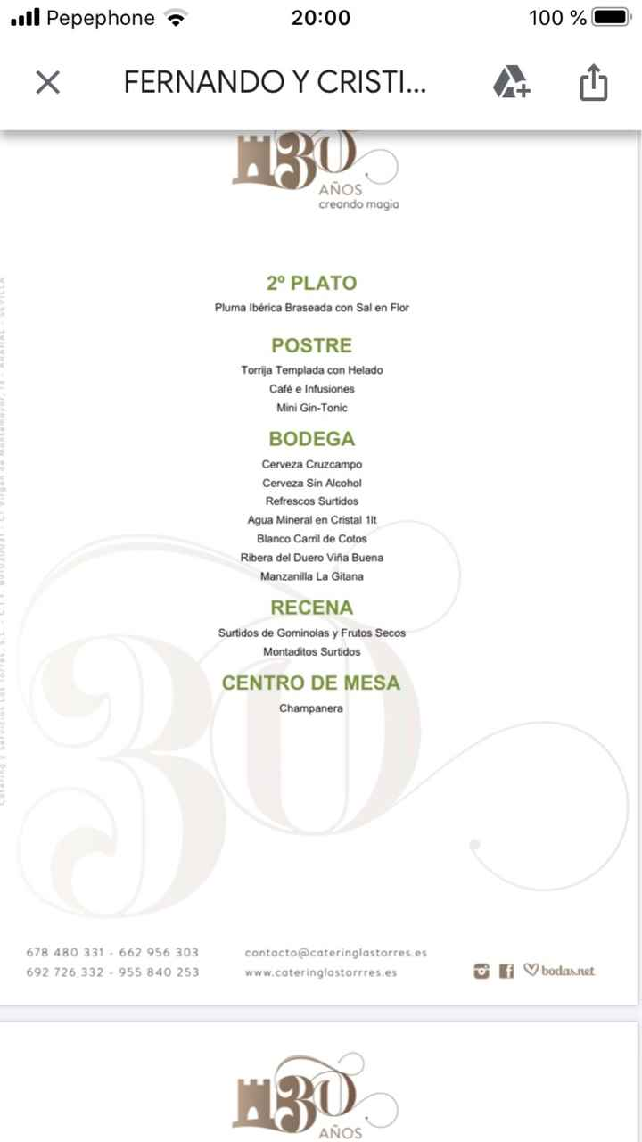 Catering Las Torres o Catering Saboga - 2