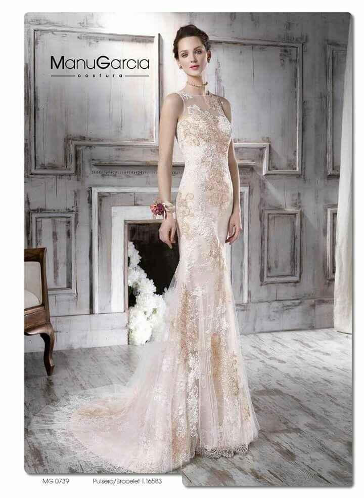 Enamorada de un vestido que no es de novia - 1