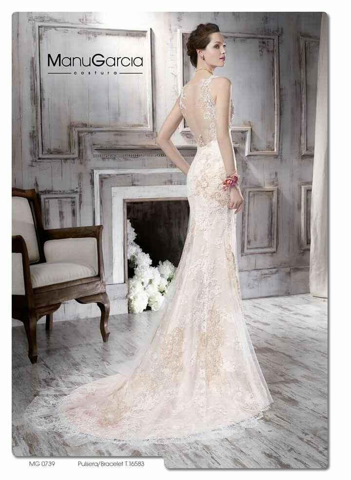 Enamorada de un vestido que no es de novia - 2
