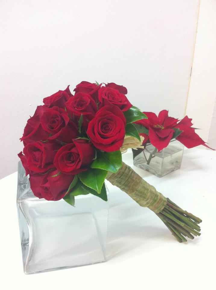 Bouquet Rosas Rojas 1