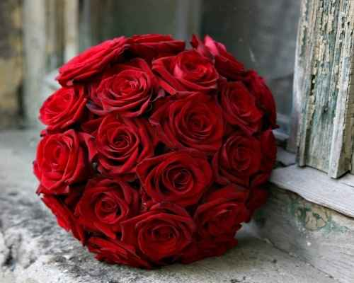 Bouquet Rosas Rojas 2