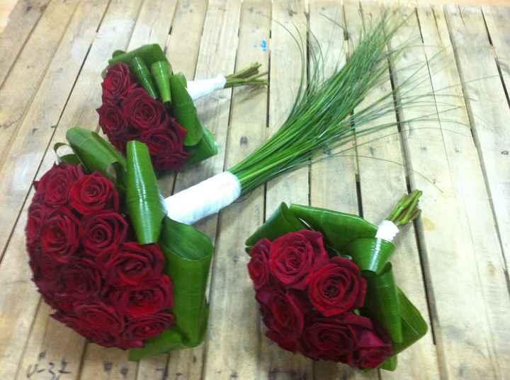 Bouquet Rosas Rojas 4