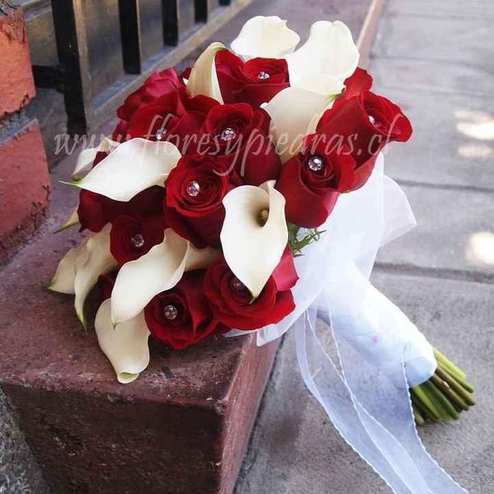 Ramo Rosas Rojas y calas Blancas 3